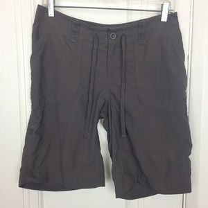 North Face Women's Grey Utility Shorts